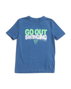 Boys Go Out Swinging Graphic T-shirt