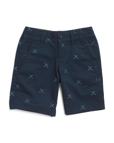 Boys Match Play Printed Shorts