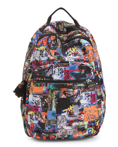 Seoul Large Print School Backpack