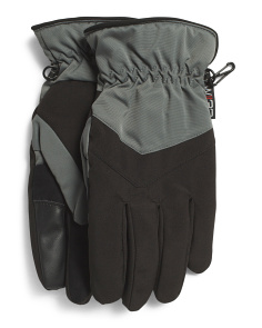 Softshell Gloves With Touch Screen Capability