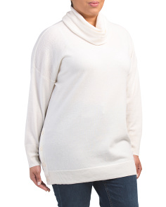 Plus Side Button Merino Wool Sweater