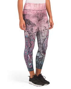 Zen Vibe Elephant Leggings