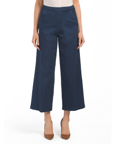 Wide Leg Gaucho Pants