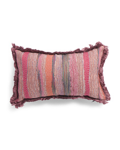 Made In India 14x22 Textured Pillow
