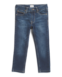 Little Boys Slim Straight Jeans