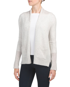 Patch Pocket Cashmere Cardigan