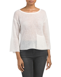 Featherweight Crew Neck Cashmere Sweater