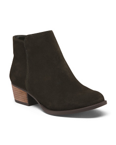 Ankle Suede Booties