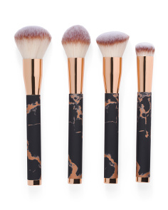 Set Of 4 Sienna Makeup Brushes