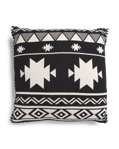 Made In India 20x20 Aztec Pillow