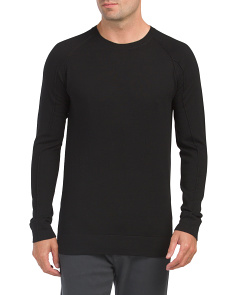 Crew Neck Fine Wool Sweater