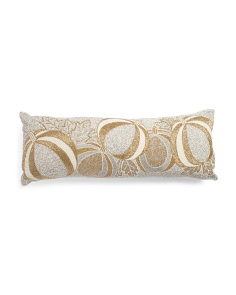 Made In India 14x36 Pumpkins Pillow