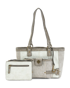 Montville Tote With Removable Wristlet