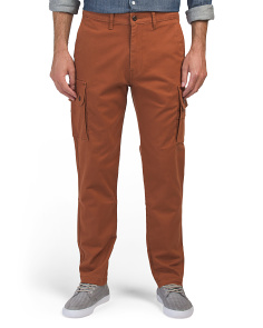 Slim Tapered Soft Wash Cargo Pants