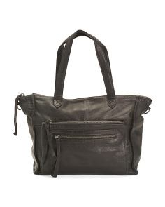 Leather Anni Satchel