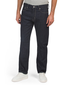 513 Slim Straight Dark Wash Jeans