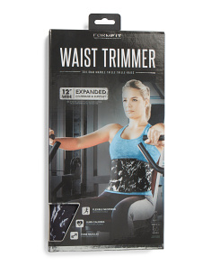 12in Marble Print Waist Trimmer