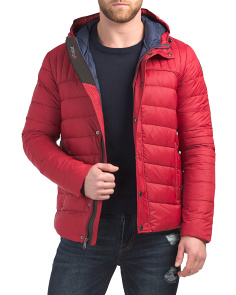 Tysson Quilted Down Packable Jacket