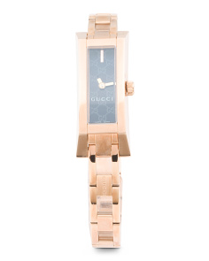 Women's Swiss Made G Link Bangle Strap Watch