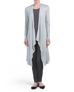 Long Sleeve Midi Cardigan