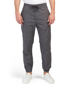 Pinstripe Suiting Joggers