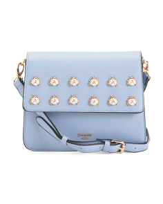 Crossbody With Bug Embellishment