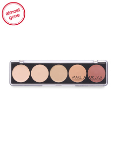 5 Color Camouflage Cream Palette