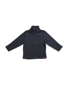 Big Boys Bonded Sweater Sherpa Jacket