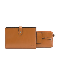 Audrey Chrissy Leather Crossbody