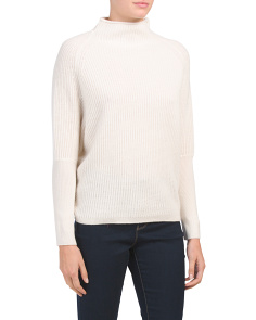 Dolman Sleeve Cashmere Pullover Sweater
