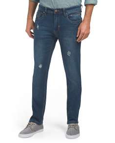 Slim Straight Stretch Jeans