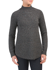 Mock Neck Donegal Sweater