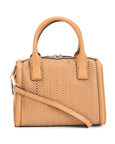 Leather Alexis Speedy Satchel