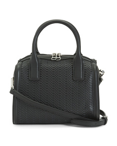Alexis Speedy Leather Satchel