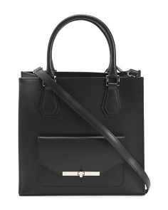 Shay Leather Tote