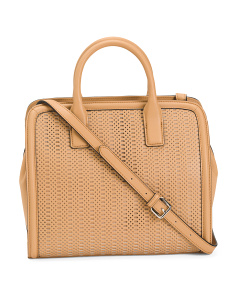Alexis Leather Satchel