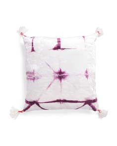 Made In India 26x26 Tye Dye Pillow