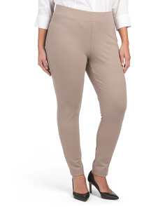 Plus Legging Compression Ponte Leggings