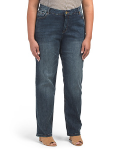 Plus Lexington Straight Jeans