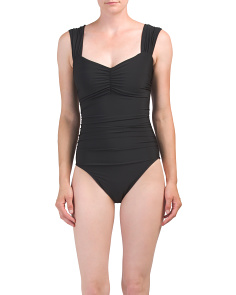 Made In Colombia Solid Natalie One-piece Swimsuit