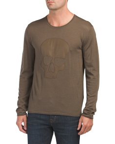 Skull Merino Wool Sweater