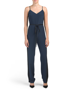 Rosa Silk Jumpsuit