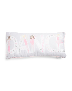 14x30 Kids Dance Pillow