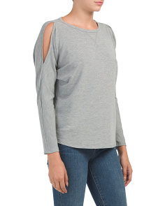 Swing Top With Shoulder Slits