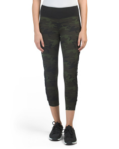 Camo Lattice Side Leggings