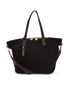 Leather Alicia Tote