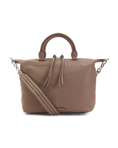 Leather Holly Satchel