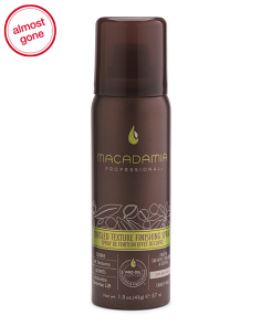 Tousled Texture Finishing Spray