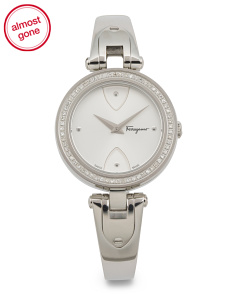 Women's Swiss Made Diamond Gilio Bangle Watch
