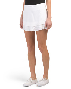 Pleated Tennis Skort